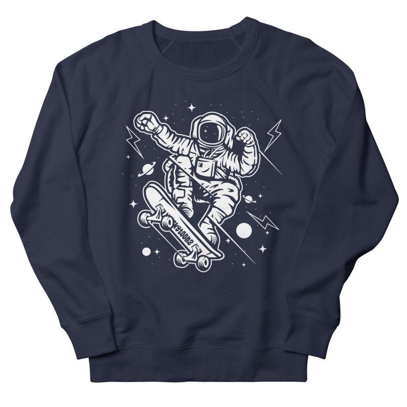Skate Space Men's French Terry Sweatshirt by WackyToonz