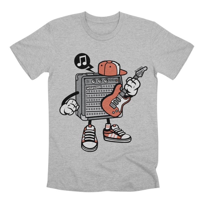 Jam Session Men's T-Shirt by WackyToonz