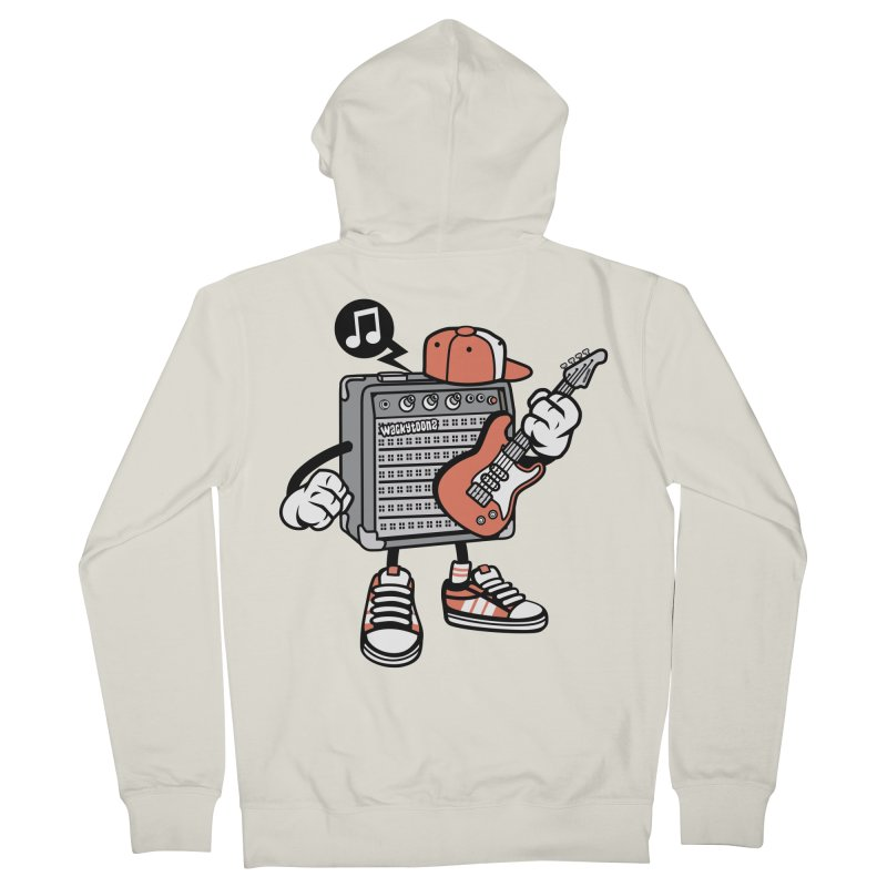 Jam Session Women's French Terry Zip-Up Hoody by WackyToonz