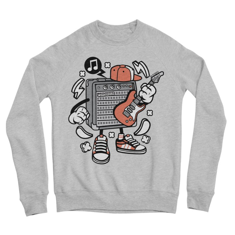 Jam Session Men's Sponge Fleece Sweatshirt by WackyToonz