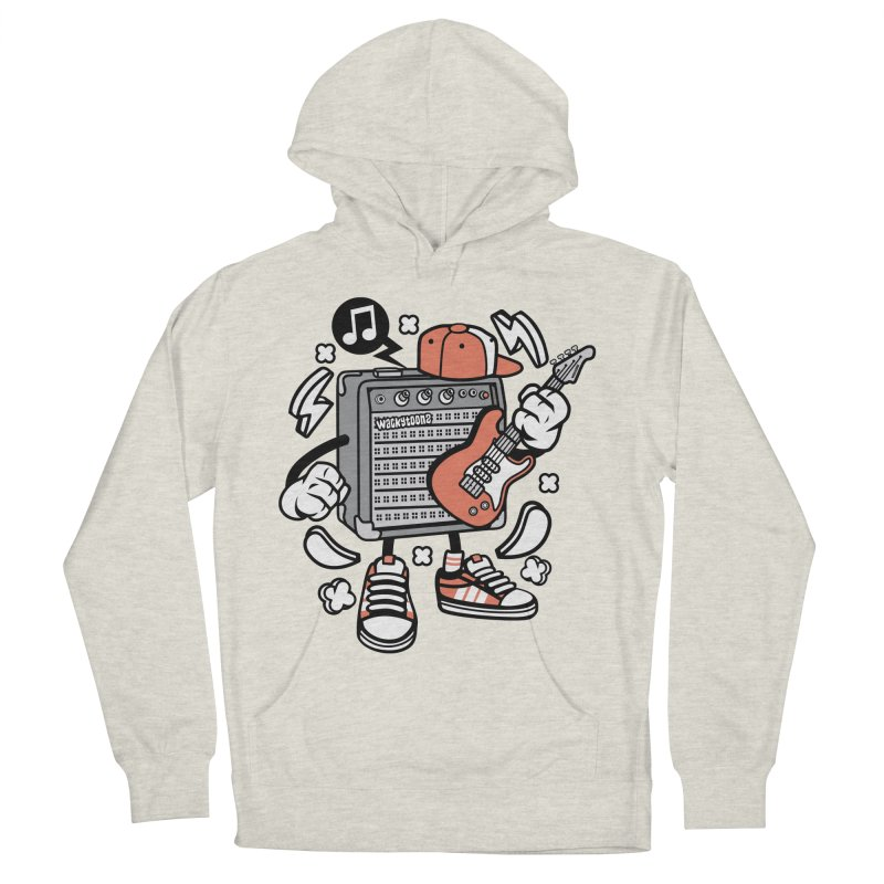 Jam Session Men's French Terry Pullover Hoody by WackyToonz