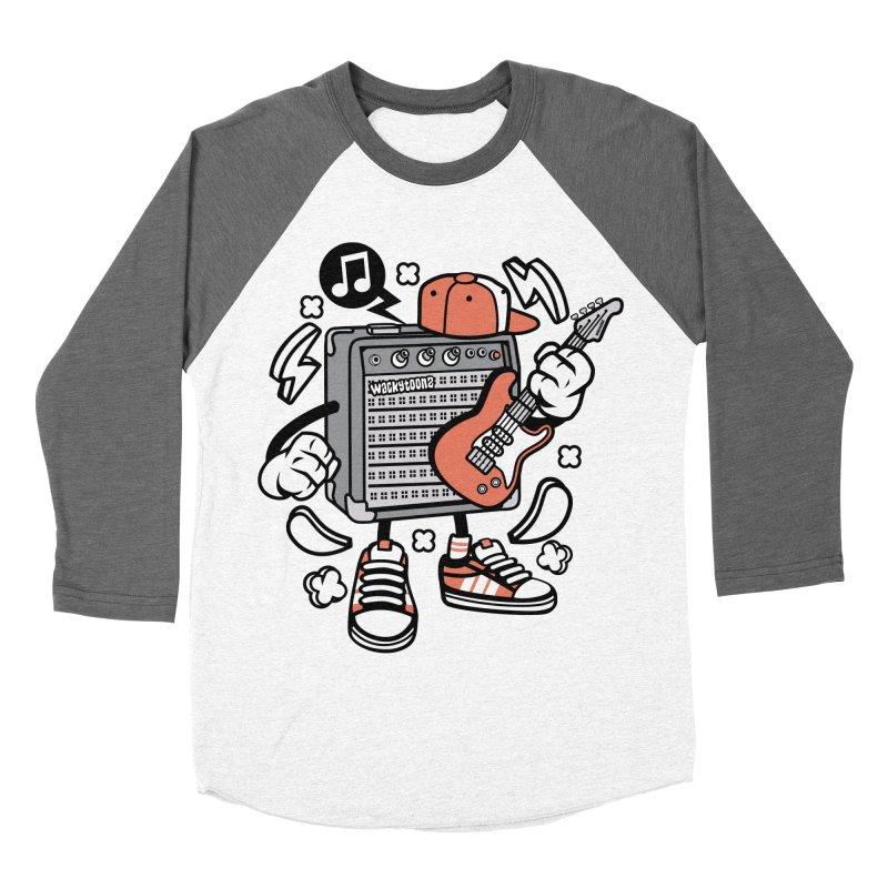 Jam Session Women's Baseball Triblend Longsleeve T-Shirt by WackyToonz