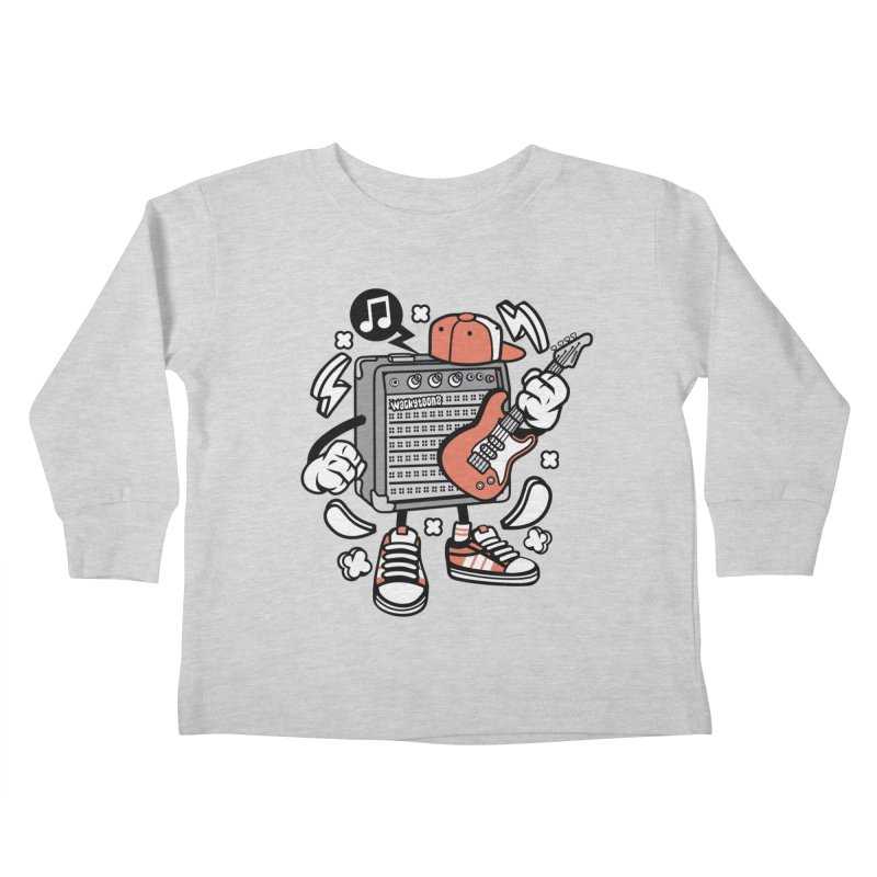 Jam Session Kids Toddler Longsleeve T-Shirt by WackyToonz