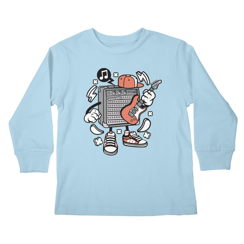 Jam Session Kids Longsleeve T-Shirt by WackyToonz