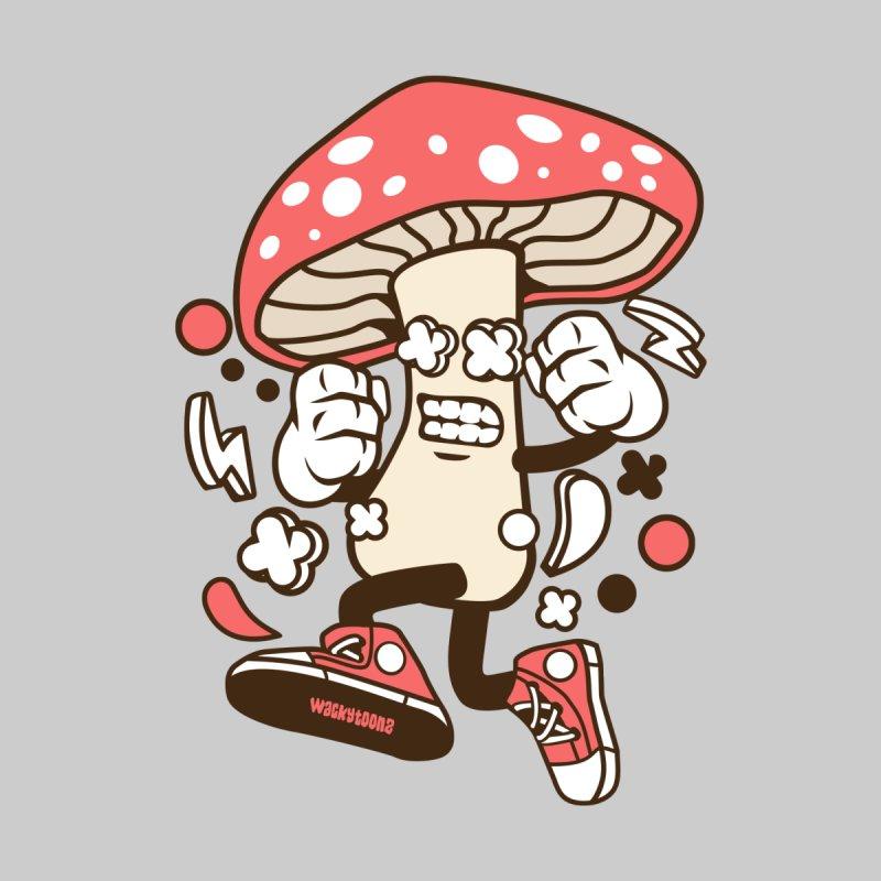 Magic Mushroom Women's T-Shirt by WackyToonz