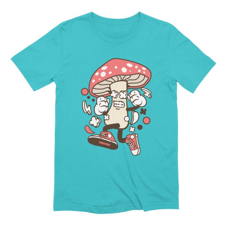 Magic Mushroom Men's T-Shirt by WackyToonz