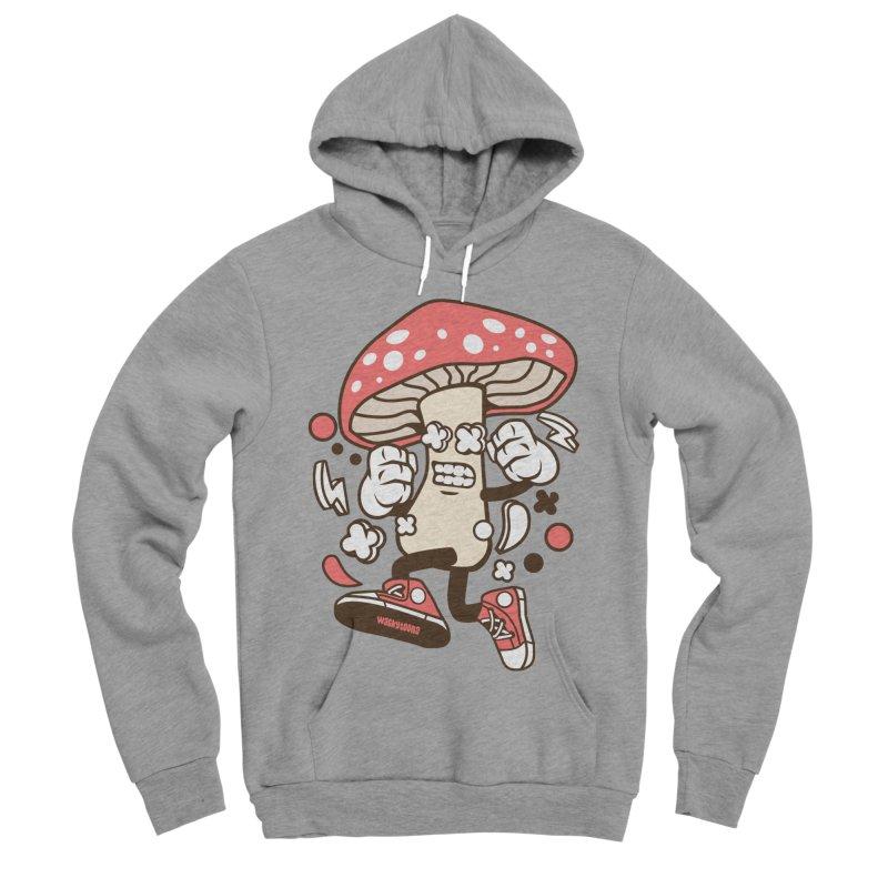 Magic Mushroom Women's Sponge Fleece Pullover Hoody by WackyToonz