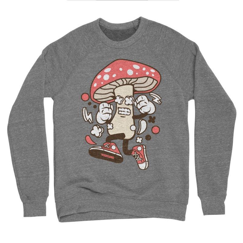 Magic Mushroom Women's Sponge Fleece Sweatshirt by WackyToonz