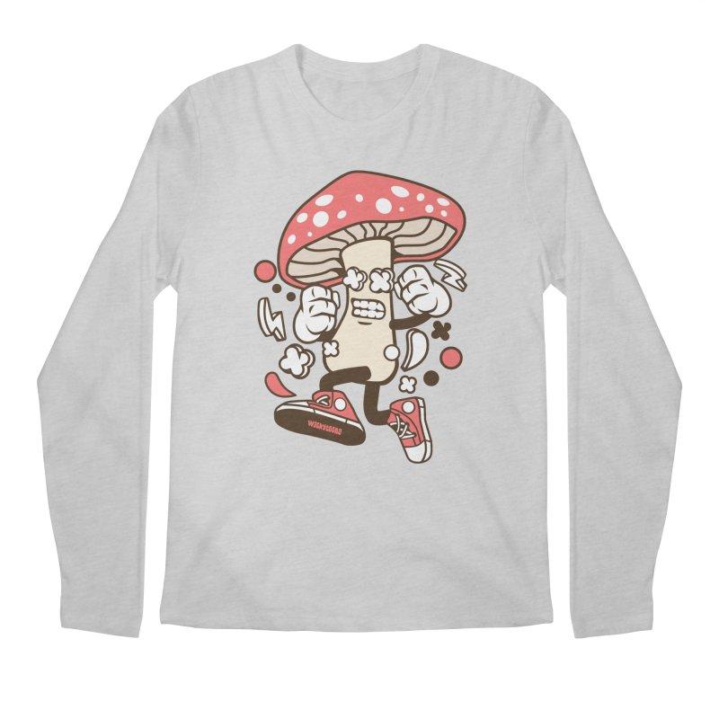 Magic Mushroom Men's Longsleeve T-Shirt by WackyToonz