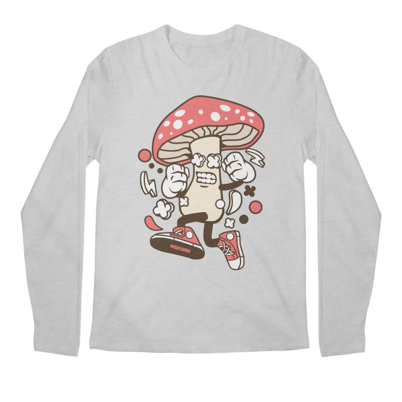 Magic Mushroom Men's Regular Longsleeve T-Shirt by WackyToonz