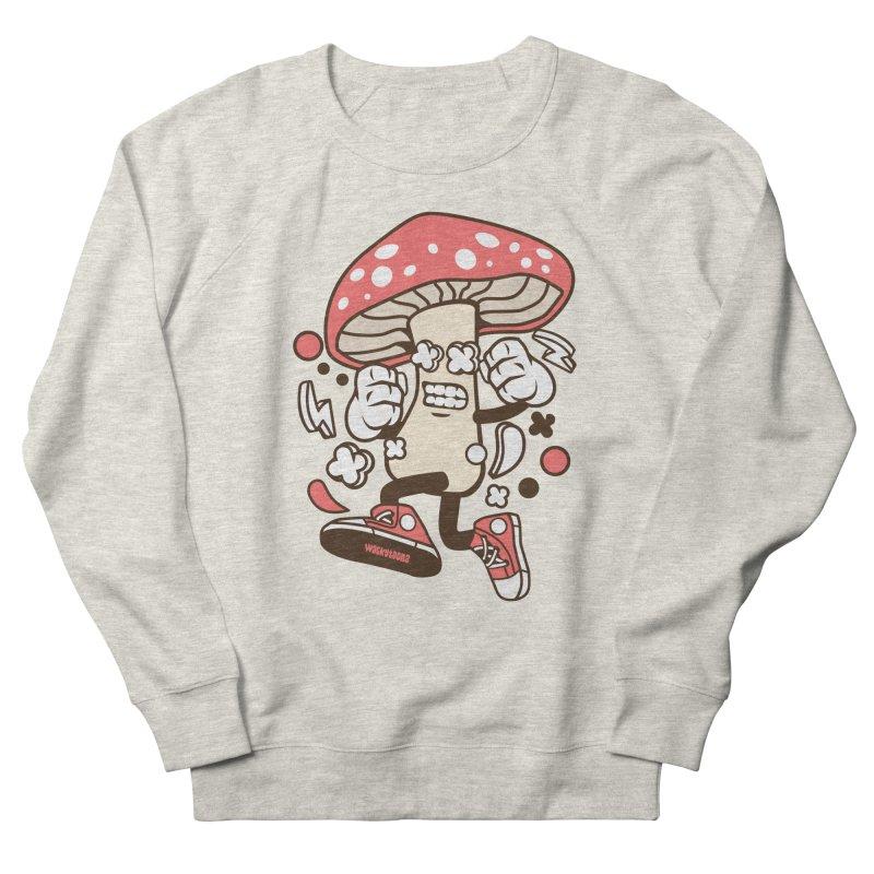 Magic Mushroom Women's French Terry Sweatshirt by WackyToonz