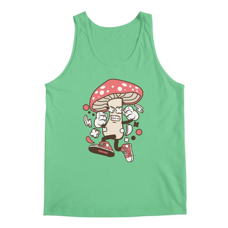 Magic Mushroom Men's Regular Tank by WackyToonz