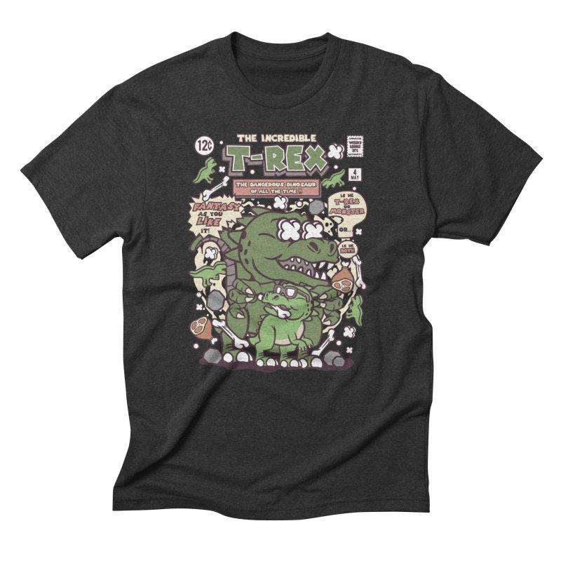 The Incredible T-Rex Men's T-Shirt by WackyToonz
