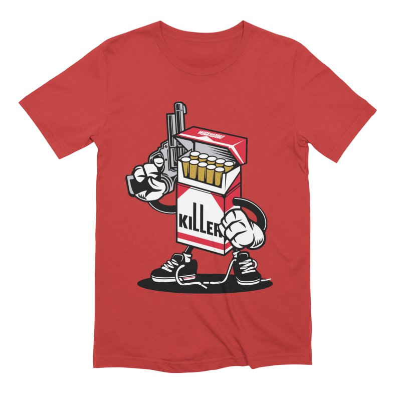 Lung Killer Men's T-Shirt by WackyToonz