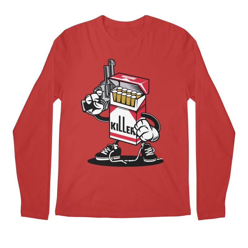 Lung Killer Men's Longsleeve T-Shirt by WackyToonz