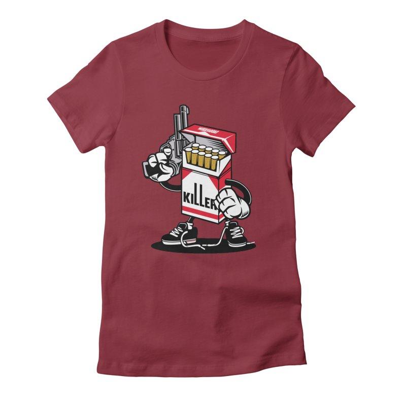 Lung Killer Women's T-Shirt by WackyToonz
