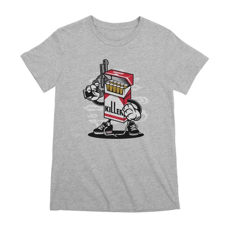 Lung Killer Women's Premium T-Shirt by WackyToonz
