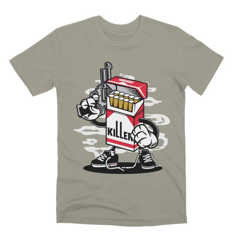 Lung Killer Men's Premium T-Shirt by WackyToonz
