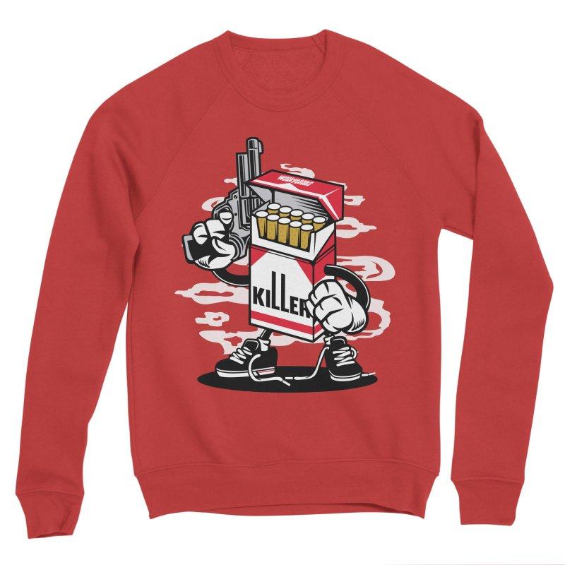 Lung Killer Women's Sponge Fleece Sweatshirt by WackyToonz