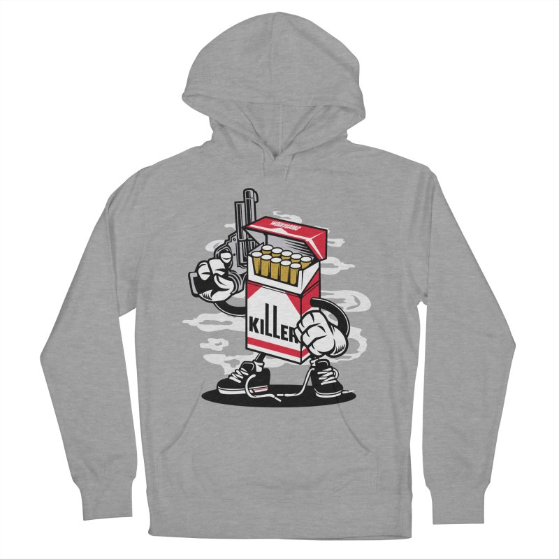 Lung Killer Men's French Terry Pullover Hoody by WackyToonz