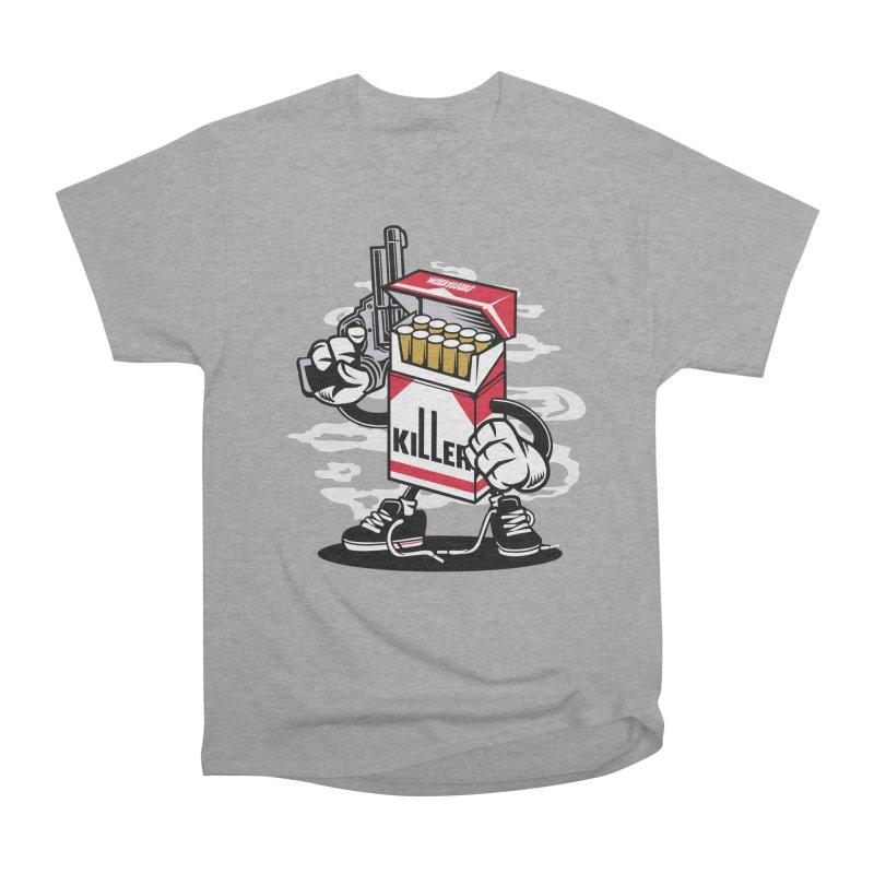 Lung Killer Men's Heavyweight T-Shirt by WackyToonz