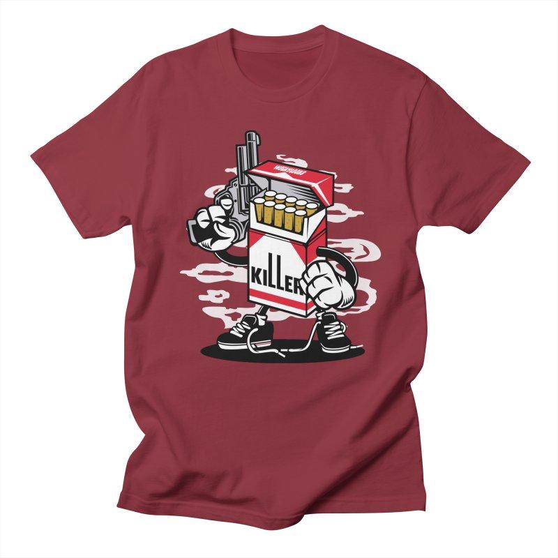 Lung Killer Men's Regular T-Shirt by WackyToonz