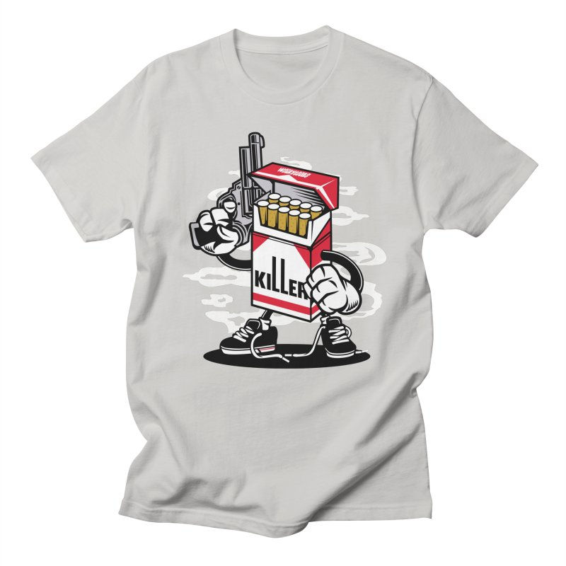 Lung Killer Men's Regular T-Shirt by WackyToonz