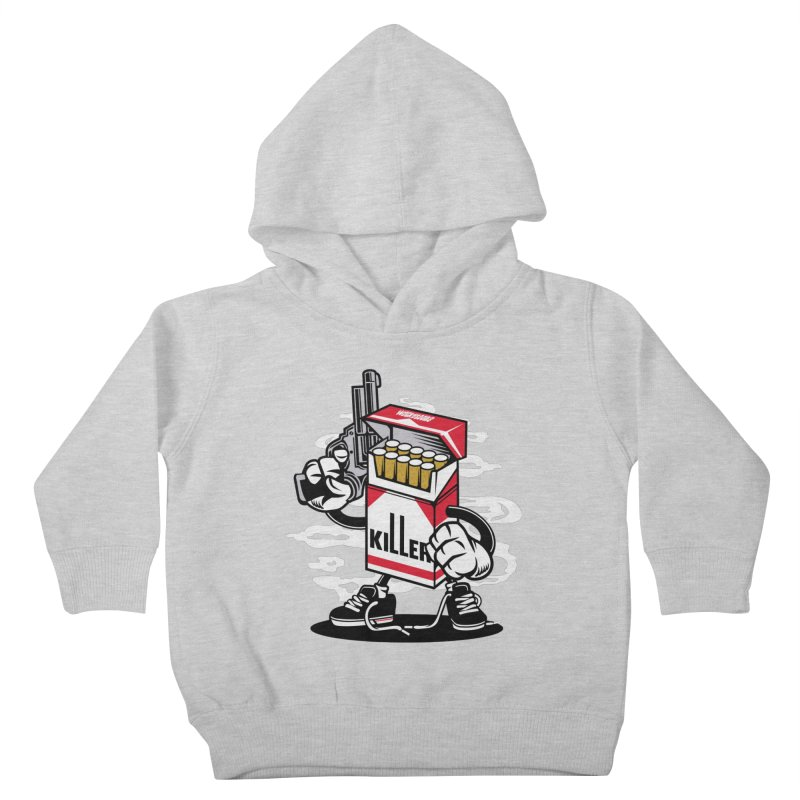 Lung Killer Kids Toddler Pullover Hoody by WackyToonz