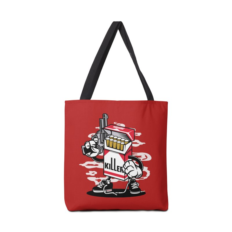 Lung Killer Accessories Tote Bag Bag by WackyToonz