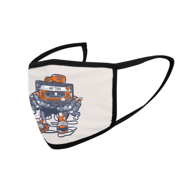 Mix Tape Zombie Accessories Face Mask by WackyToonz