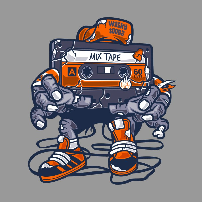Mix Tape Zombie Men's T-Shirt by WackyToonz