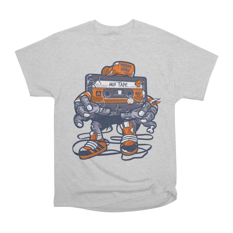 Mix Tape Zombie Women's T-Shirt by WackyToonz