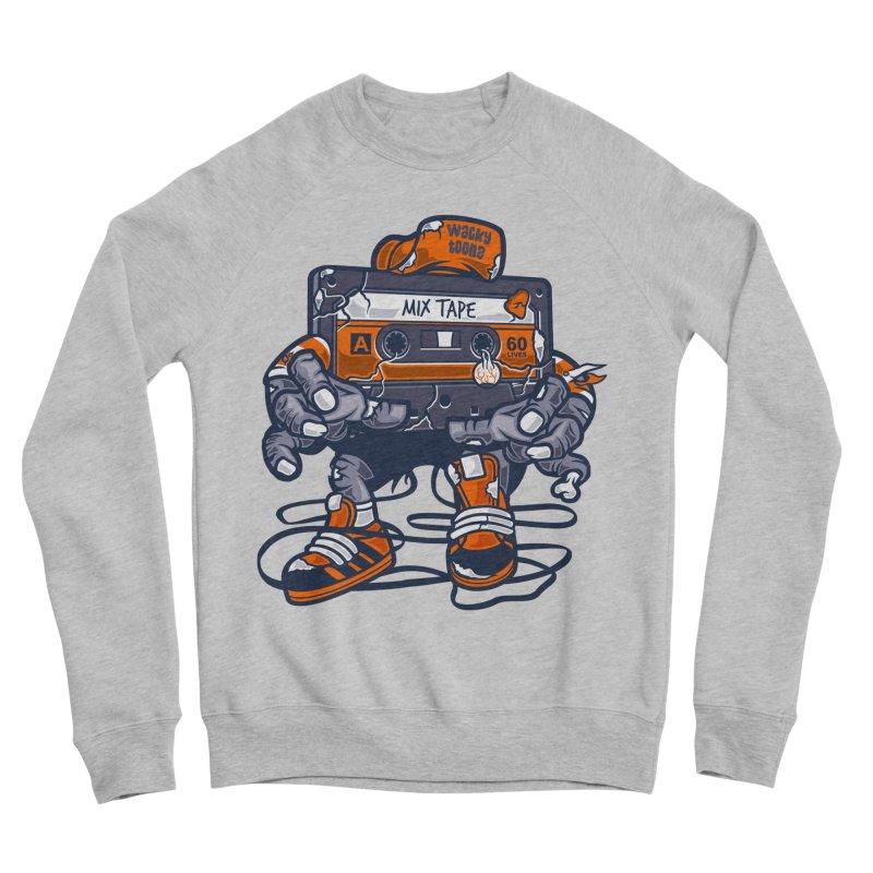 Mix Tape Zombie Women's Sponge Fleece Sweatshirt by WackyToonz