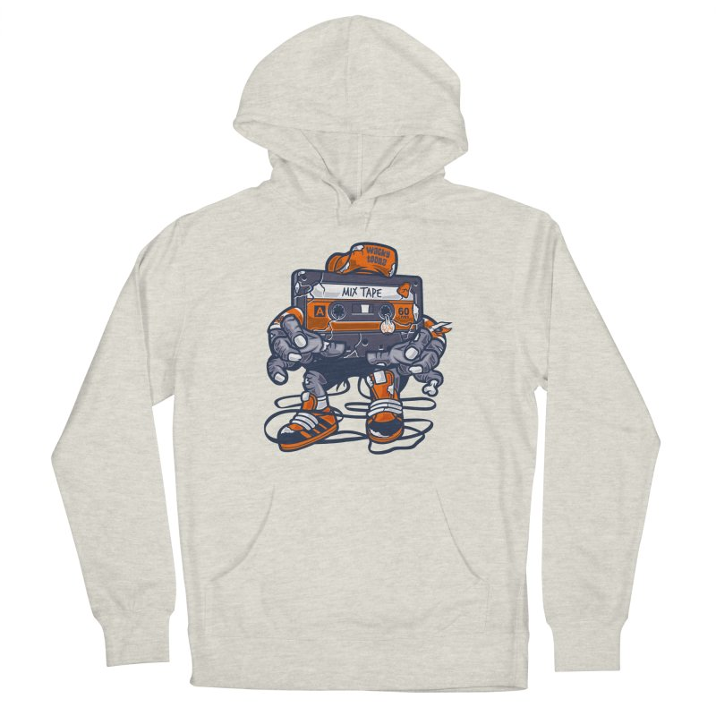 Mix Tape Zombie Men's Pullover Hoody by WackyToonz