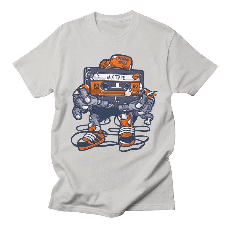 Mix Tape Zombie Men's T-Shirt by WackyToonz