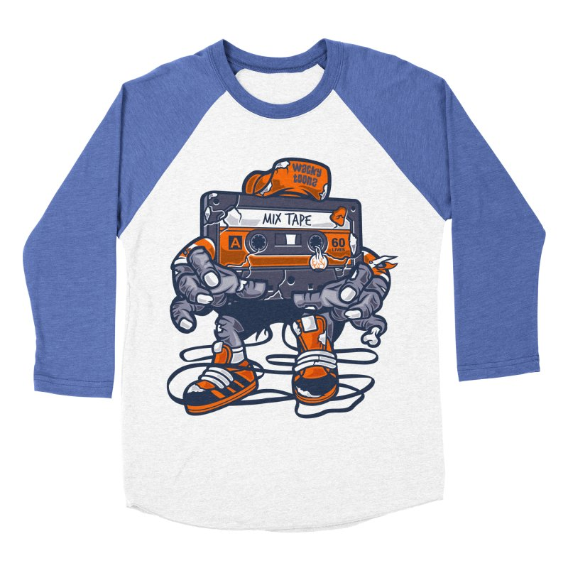 Mix Tape Zombie Women's Longsleeve T-Shirt by WackyToonz