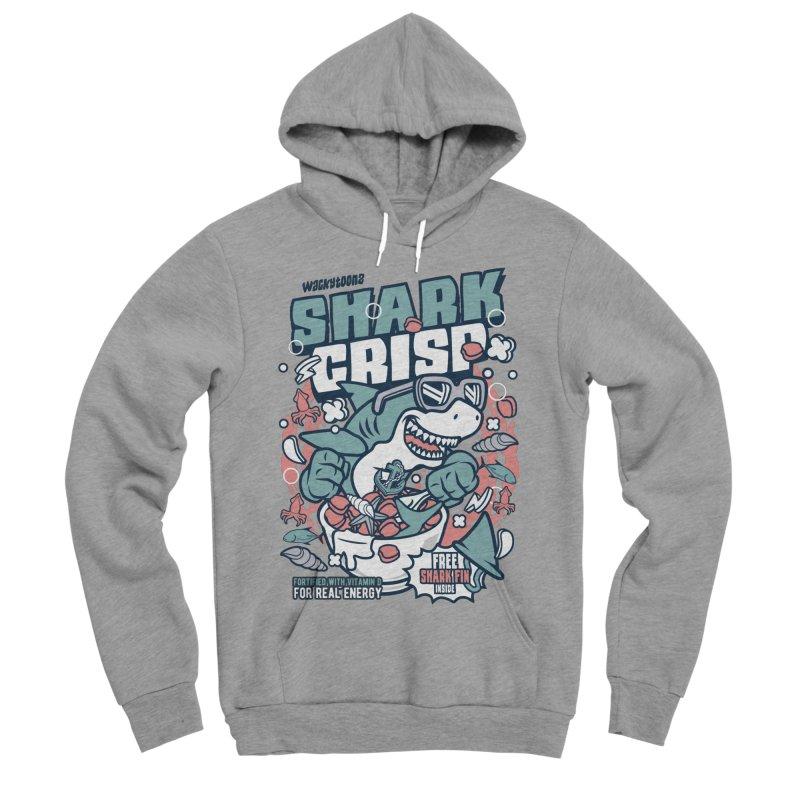 Shark Crisp Cereal Women's Sponge Fleece Pullover Hoody by WackyToonz