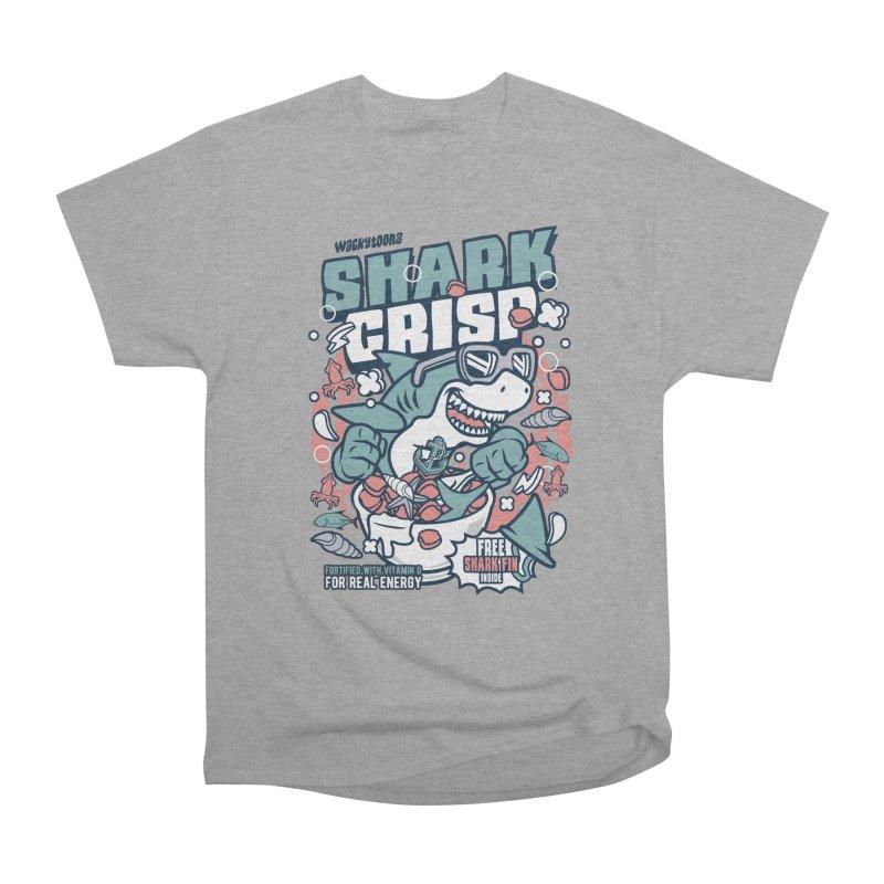 Shark Crisp Cereal Men's T-Shirt by WackyToonz