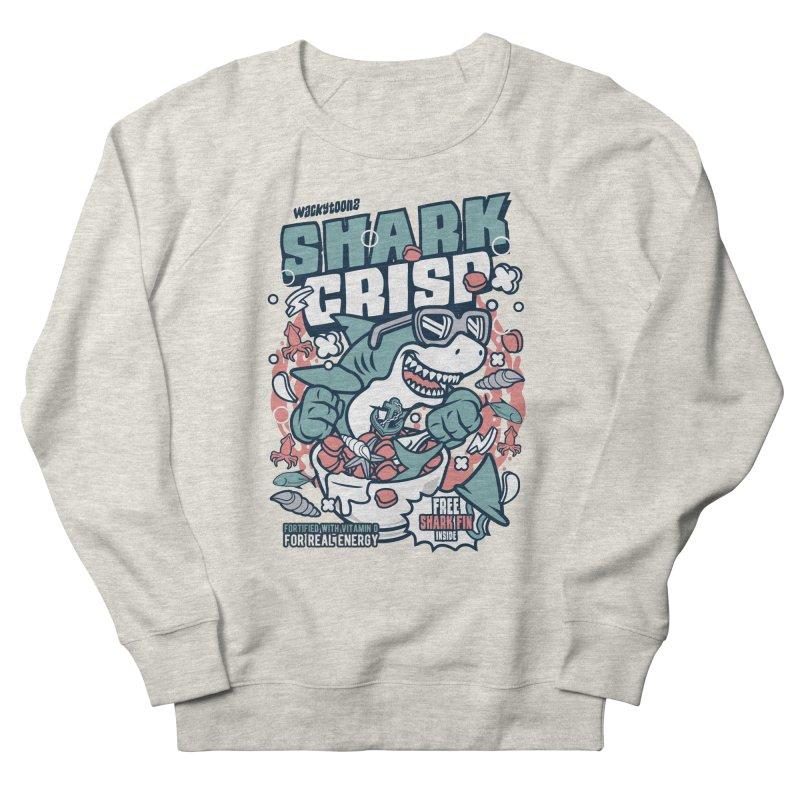 Shark Crisp Cereal Men's Sweatshirt by WackyToonz
