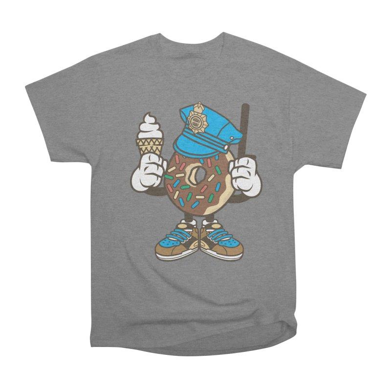 Donut Cop Men's T-Shirt by WackyToonz