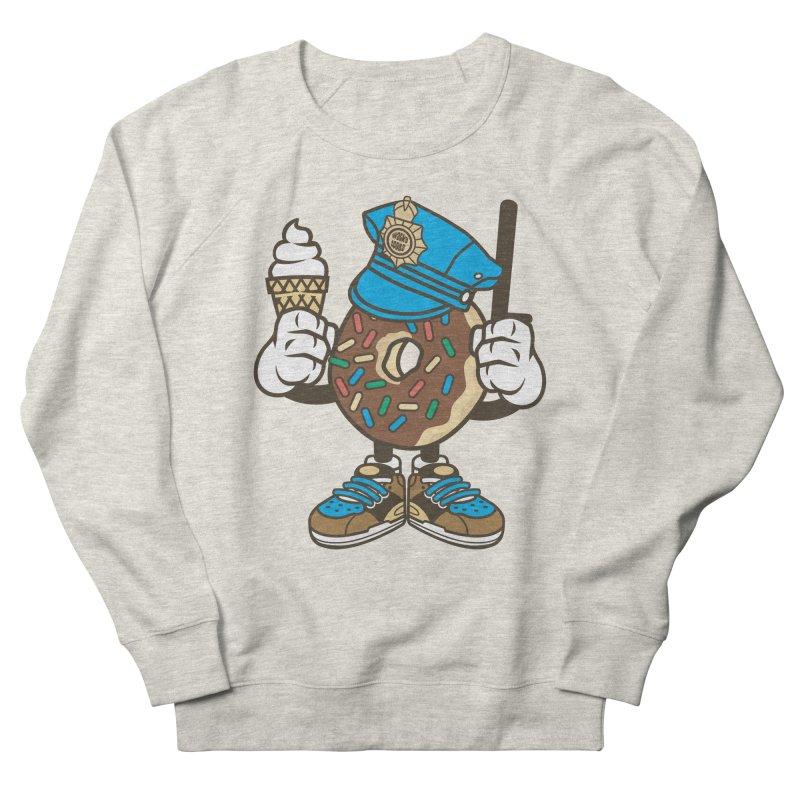Donut Cop Men's Sweatshirt by WackyToonz