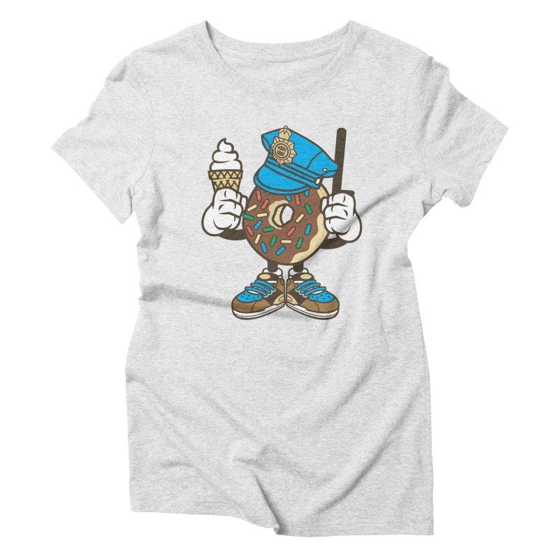 Donut Cop Women's T-Shirt by WackyToonz