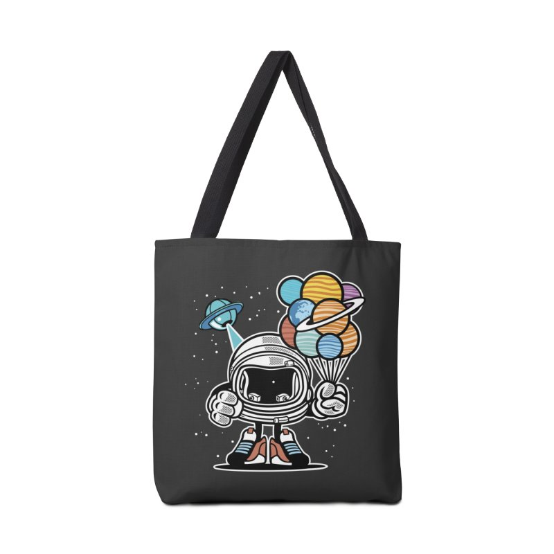 Out Of This World Gift Accessories Tote Bag Bag by WackyToonz