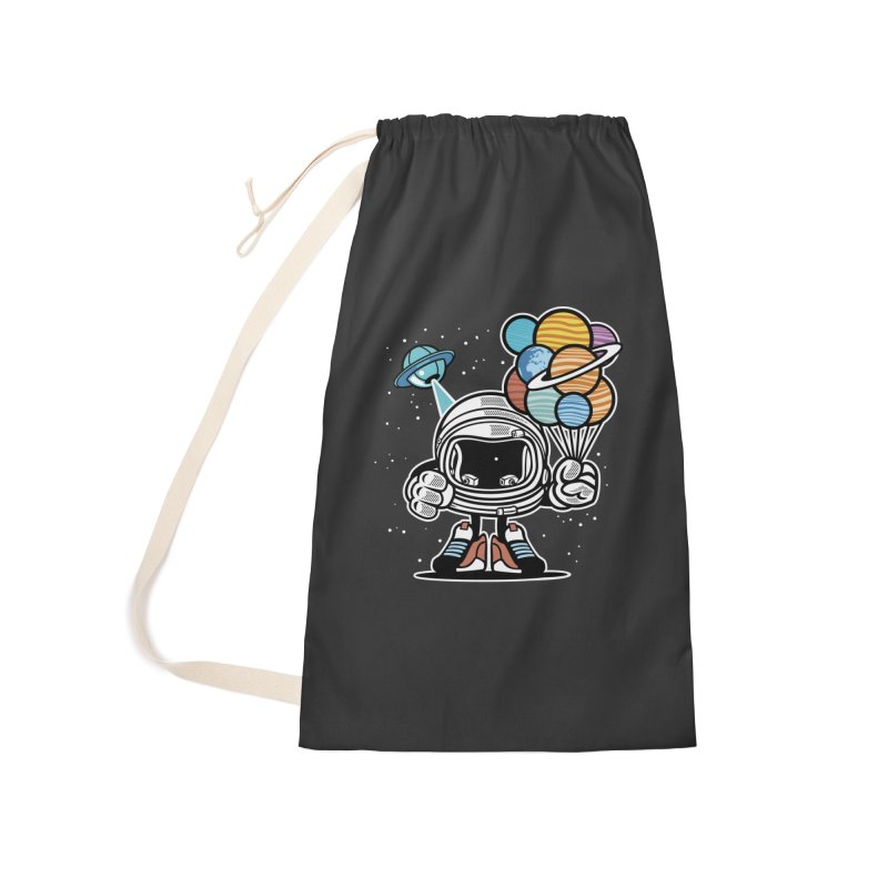 Out Of This World Gift Accessories Laundry Bag Bag by WackyToonz