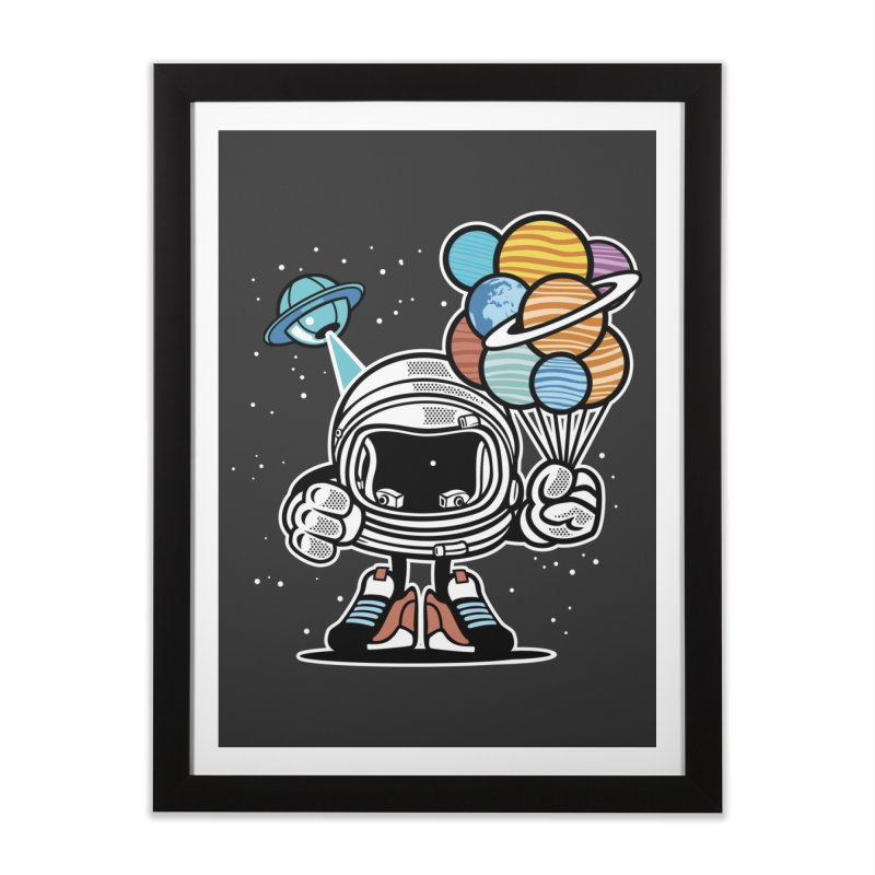 Out Of This World Gift Home Framed Fine Art Print by WackyToonz