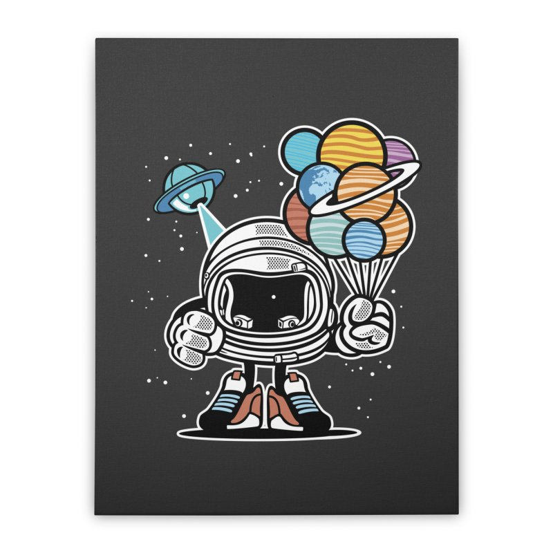 Out Of This World Gift Home Stretched Canvas by WackyToonz