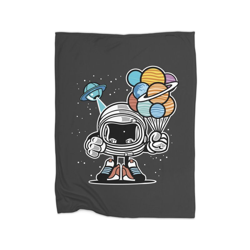 Out Of This World Gift Home Fleece Blanket Blanket by WackyToonz