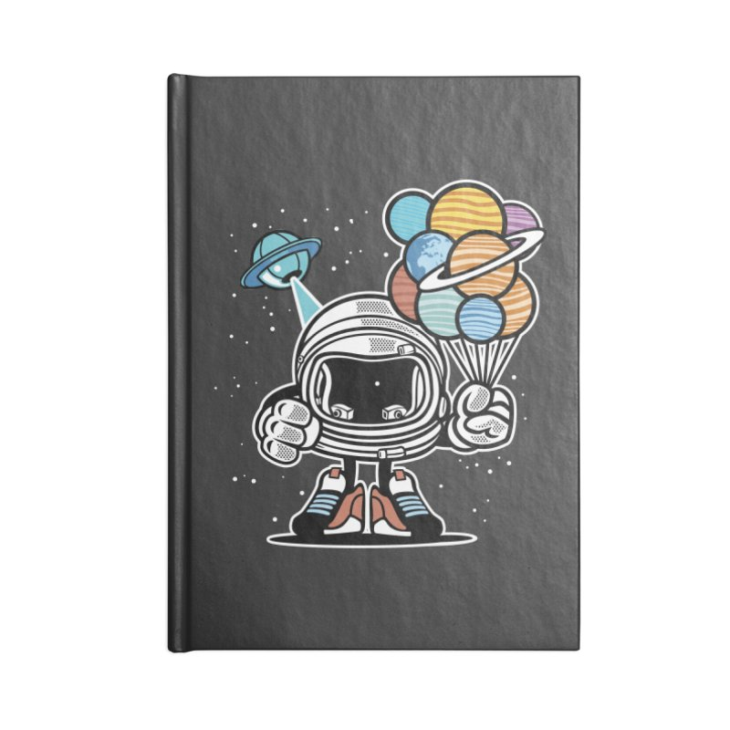 Out Of This World Gift Accessories Blank Journal Notebook by WackyToonz