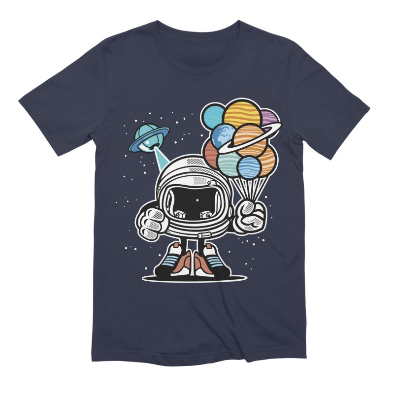 Out Of This World Gift Men's Extra Soft T-Shirt by WackyToonz