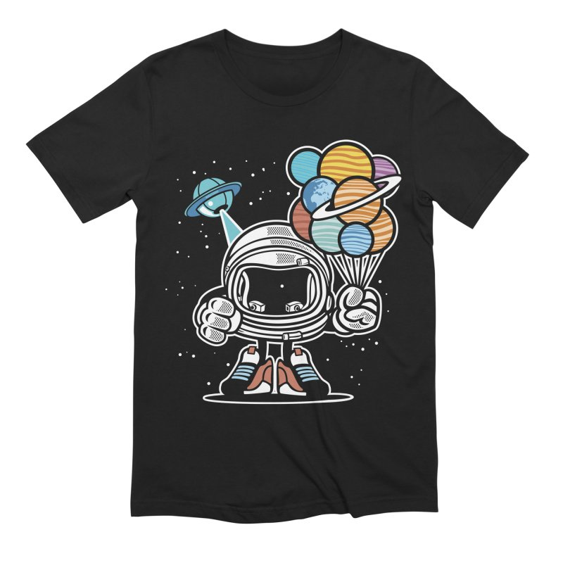 Out Of This World Gift Men's T-Shirt by WackyToonz